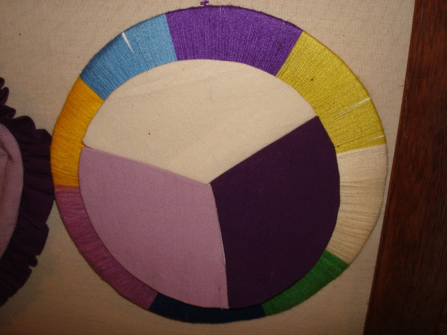 Color Wheel made by an artisan